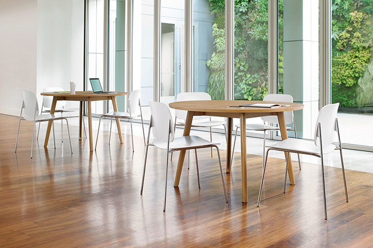 北欧らしい清潔感ある家具はやはり見ていて清々しい