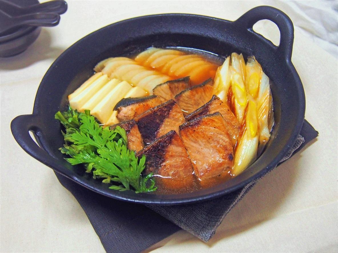 おいしい旬のブリ鍋のレシピ