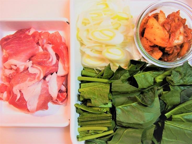 豚キムチ丼のレシピ
