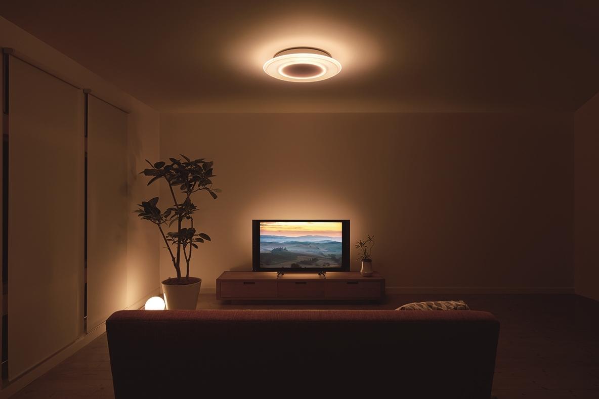 ホームシアターを楽しむための照明