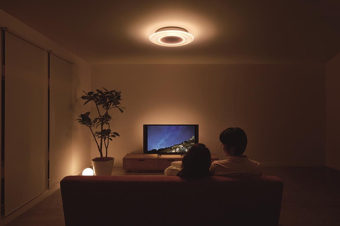 恋人と過ごすロマンチックな照明