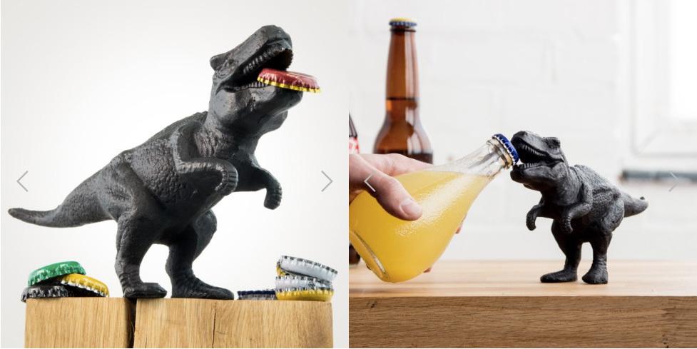 恐竜好きな方にオススメの「Dinosaur Bottle Opener」。迫力のある造形だが、ボトルと並べてみるとなんとも愛嬌のあるサイズ感。常に食卓の見える位置に置いておきたい一品だ。 - See more at: https://www.roomie.jp/?p=371647&preview=true#sthash.bL00BKtX.dpuf-1