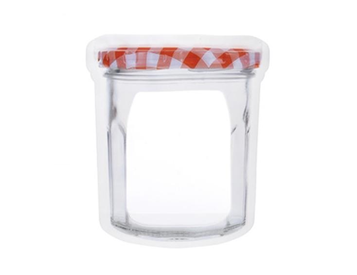 ジャムジャーやメイソンジャーにそっくりな、ジッパーバッグ「Jar Zipper Bag」
