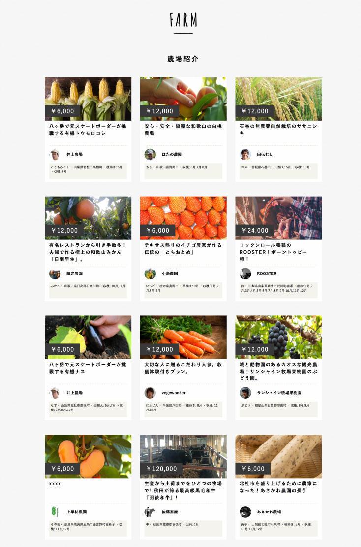 Web上でマイ農場を持つことができるサービス「FARMFES」を紹介