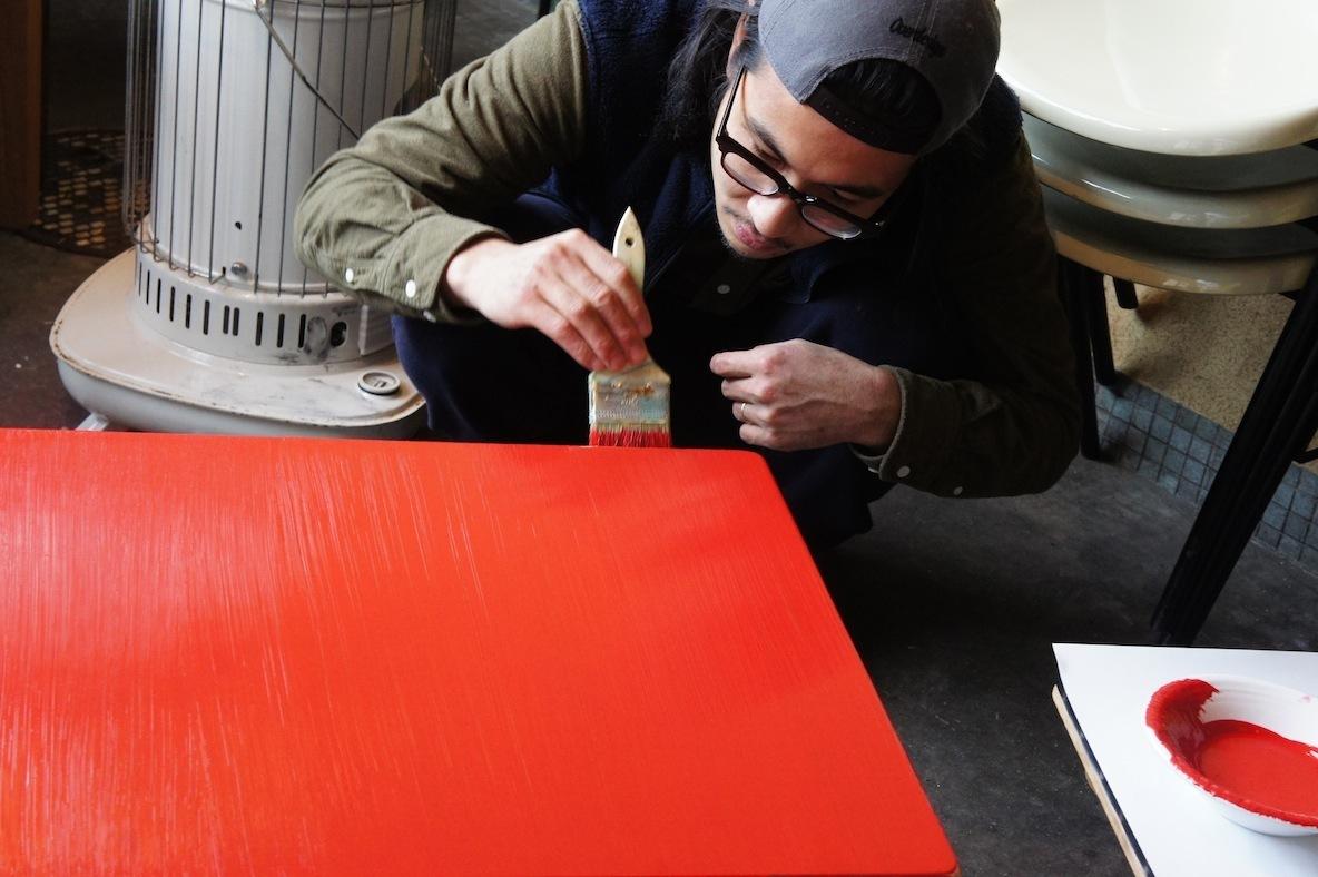 カフェのプチDIY、グルーヴ感あふれる福井の「Flat Kitchen」に学ぶ