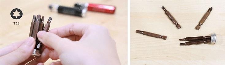ポケットサイズ軽量工具「BiTOOL」