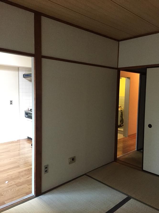 リノベ前の古い和室