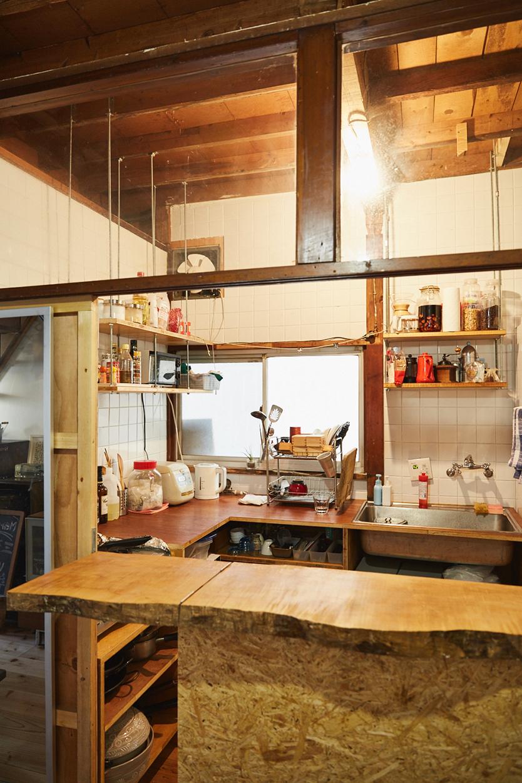 セルフリノベした一軒家のキッチン