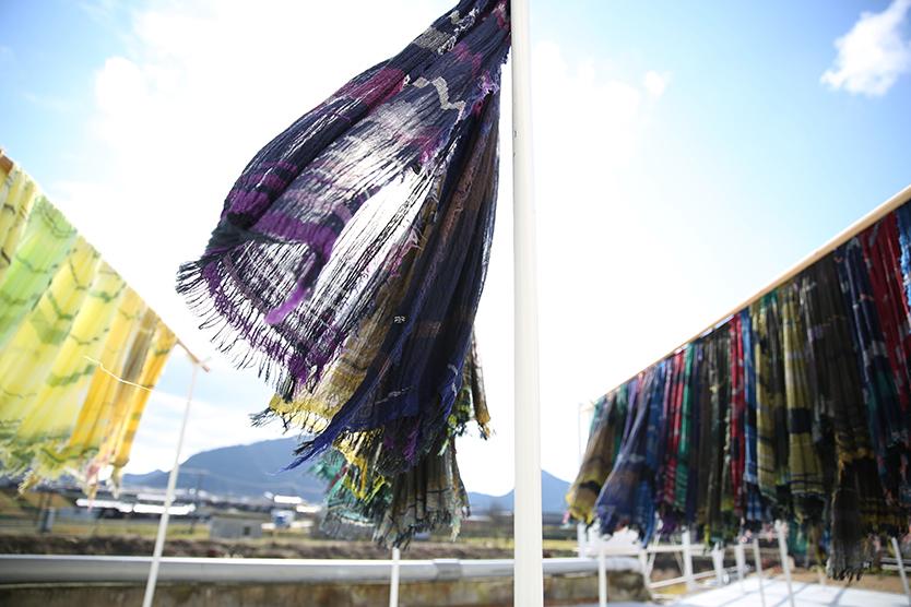 繊維や布を学べるセコリ荘 FACTORY