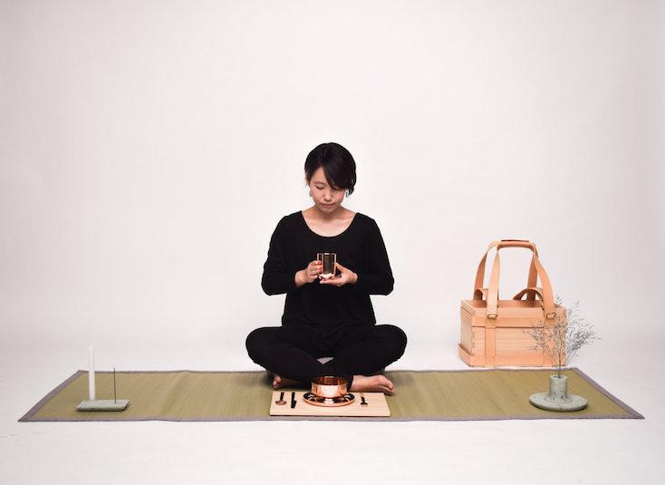 ノマド文化を形にした、和の日本文化持ち運べる生活キット「Nomadic life」