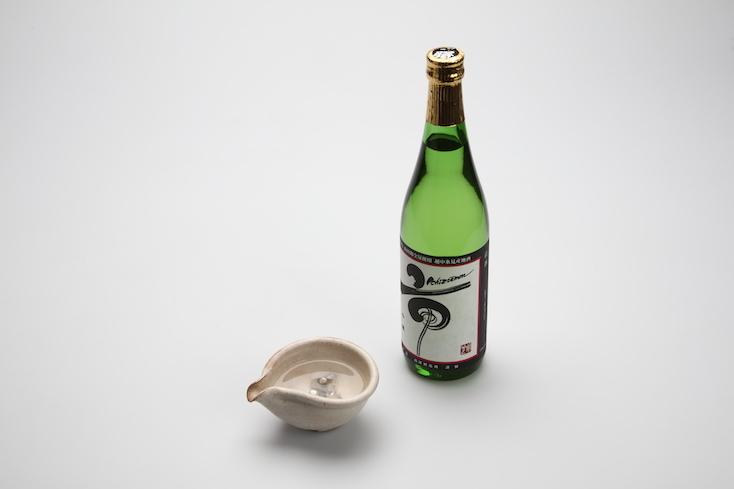 日本酒に入れるとまろやかになる錫のプロダクト、すずテト