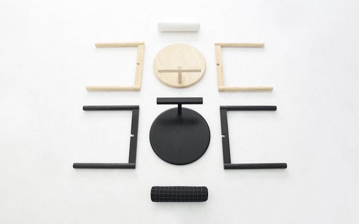 ソウルにあるデザインスタジオATOにより製作された、西洋と東洋の文化が融合した椅子の紹介