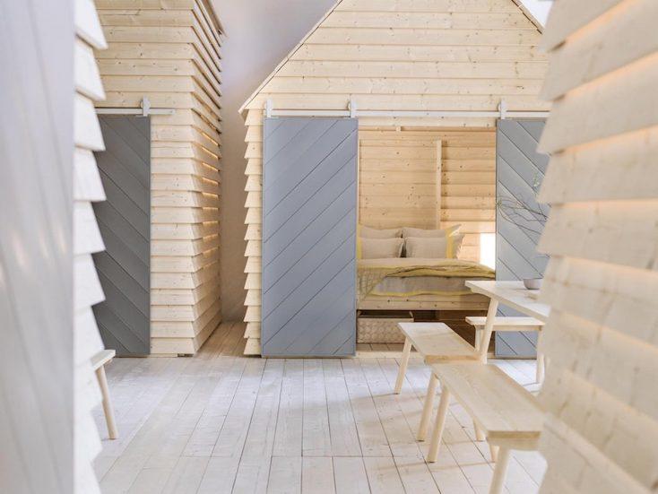 パリの小屋みたいなホテルKOTI
