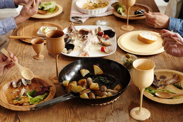 RIVERETの作る、天然孟宗竹を素材として使用した、洗練されたデザインのワインベッセルの紹介
