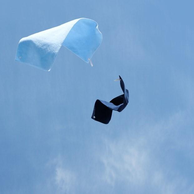 scopeの5色の青いタオルで、春はタオルから衣替えしてみては