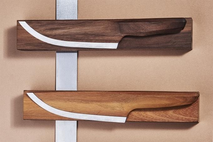 97%木材の包丁は、抗菌性・耐久性と強烈なオリジナリティを持つ