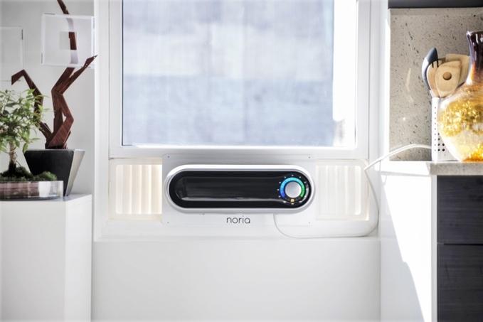 エアコンの位置と間取りの関係で、なかなか自室まで空調が届かない……なんて経験をしたことはないだろうか? そんな方に、クラウドファンディング・INDIEGOGOで大きな話題を呼んだ窓に取り付けるエアコン「Noria」を紹介したい。top