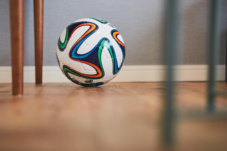 マンチェスター・シティのサッカーボール