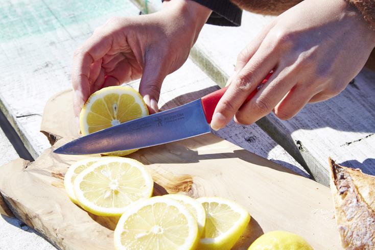 料理レシピは、採れたばかりの旬の野菜を使って「せっかく海でいただくのだから」と南仏テイストに。アウトドアでも作りやすいかんたんレシピだけど、潮風が最高のスパイスに。