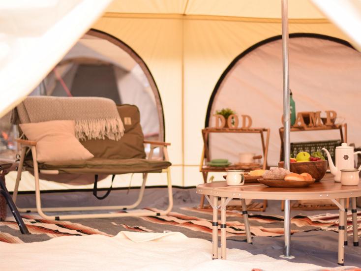 グランピングが楽しめるDOPPELGANGER OUTDOOR®のテント
