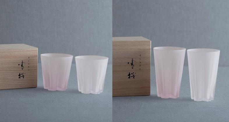 「ARIGATO GIVING」の桜モチーフの食器