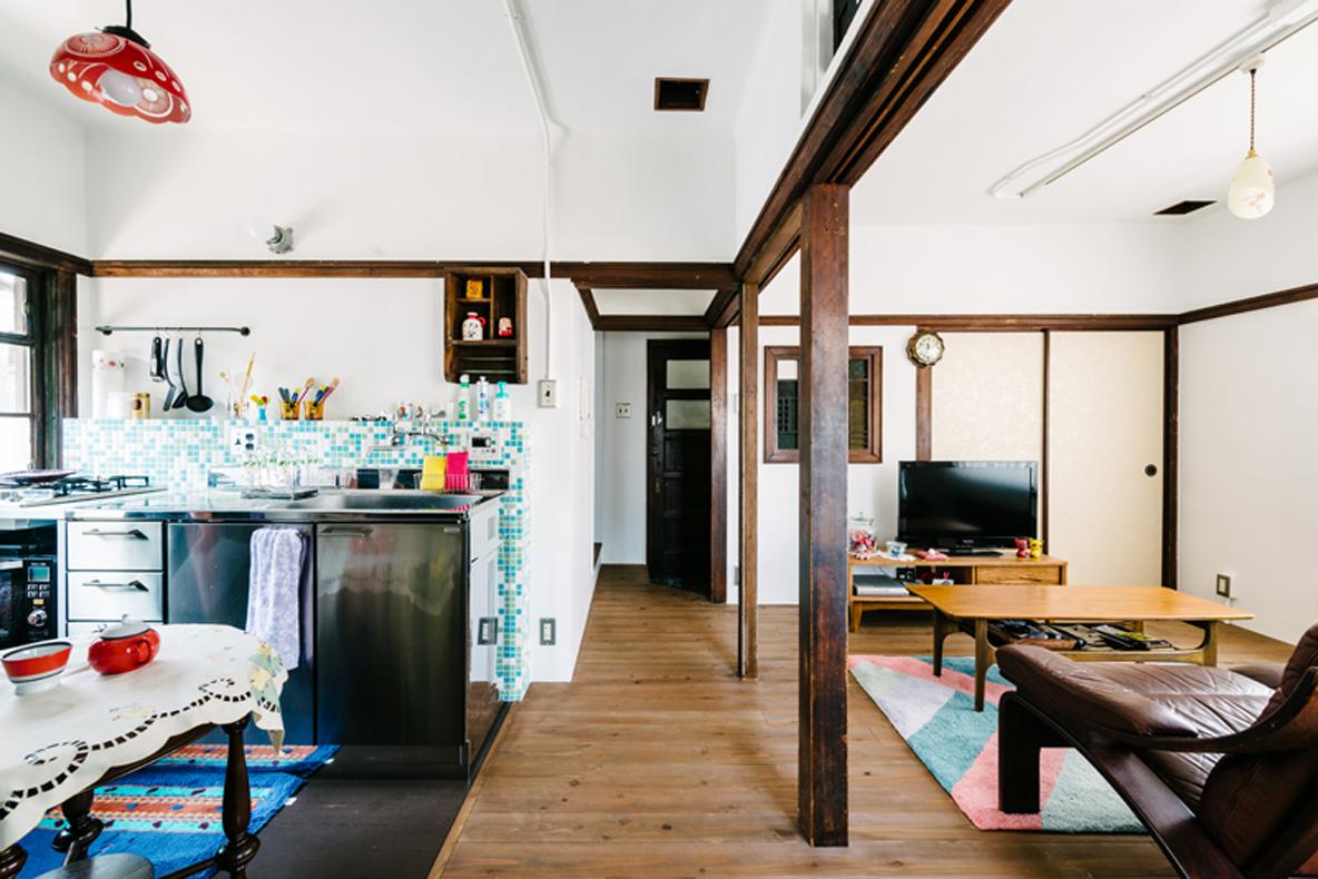 リノベーションをした大阪の集合住宅
