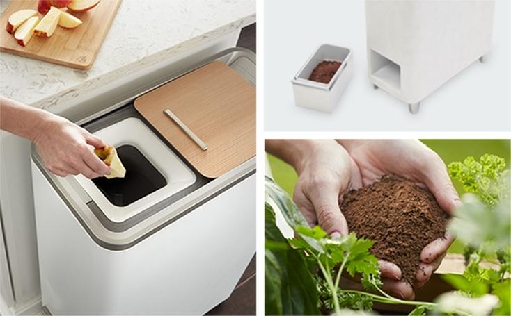 生ゴミを家庭で肥料にできるマシン