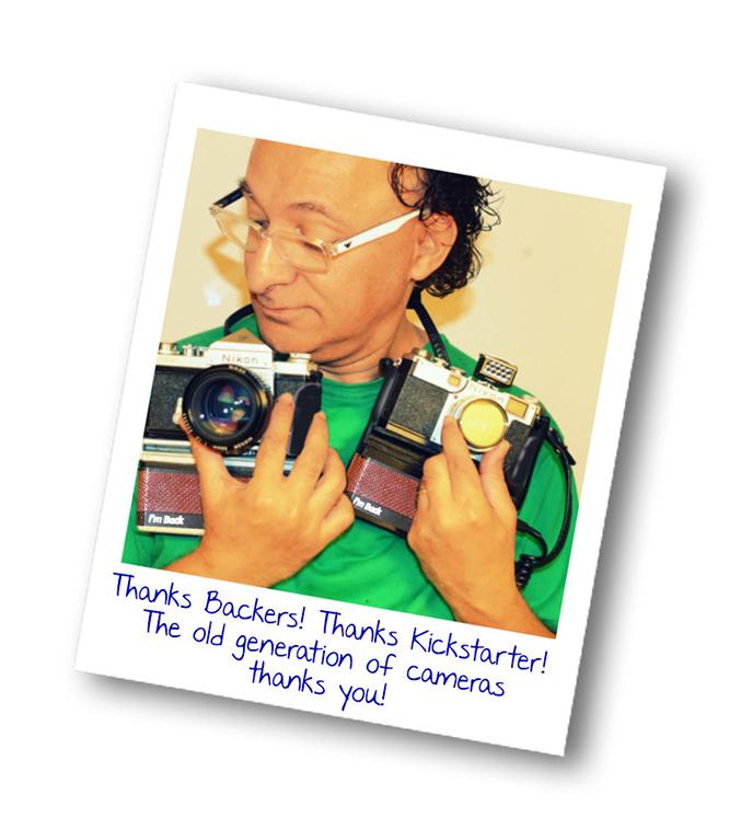 フィルムカメラをデジタルカメラに変身させるガジェット「I'm back」
