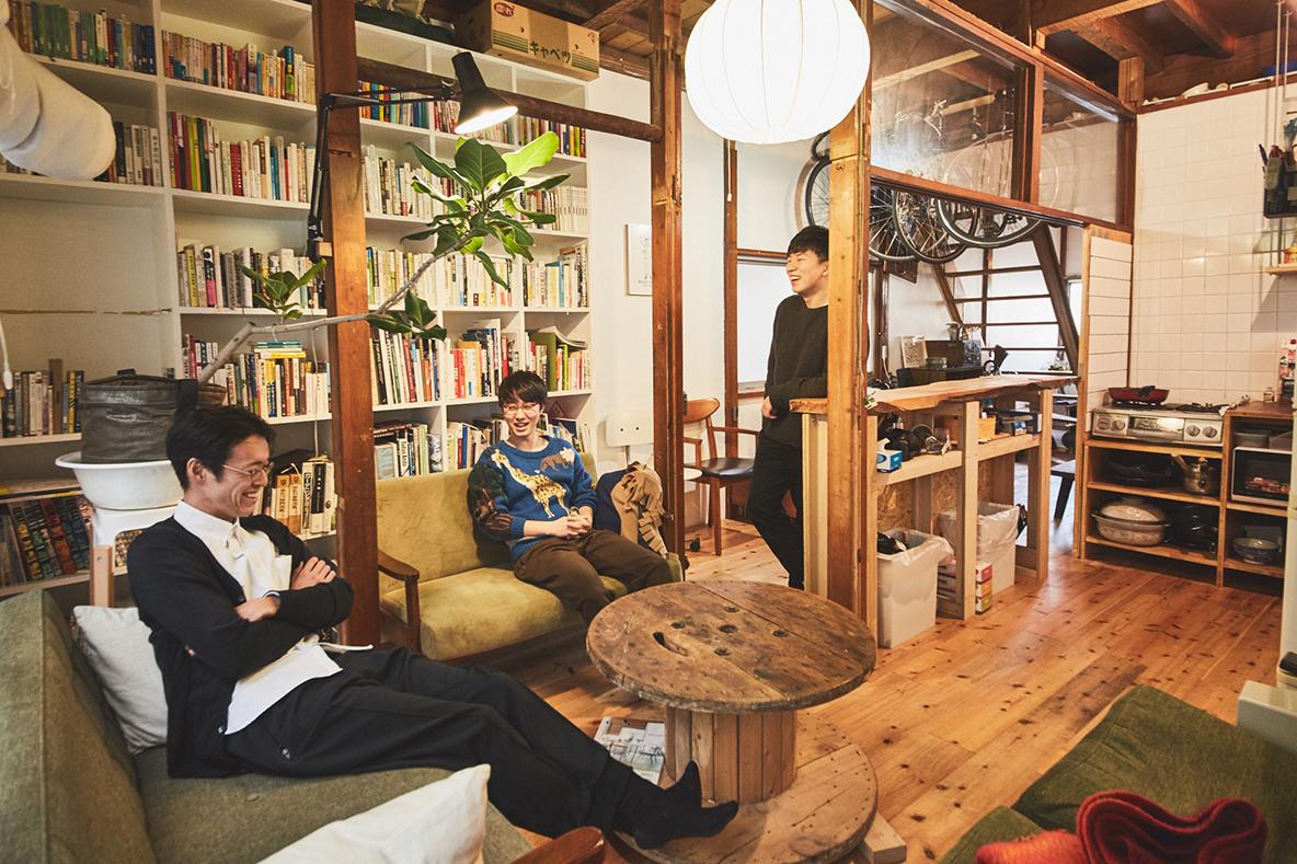 レトロ一軒家を好きにリノベする、建築男子のシェアハウス(三軒茶屋)