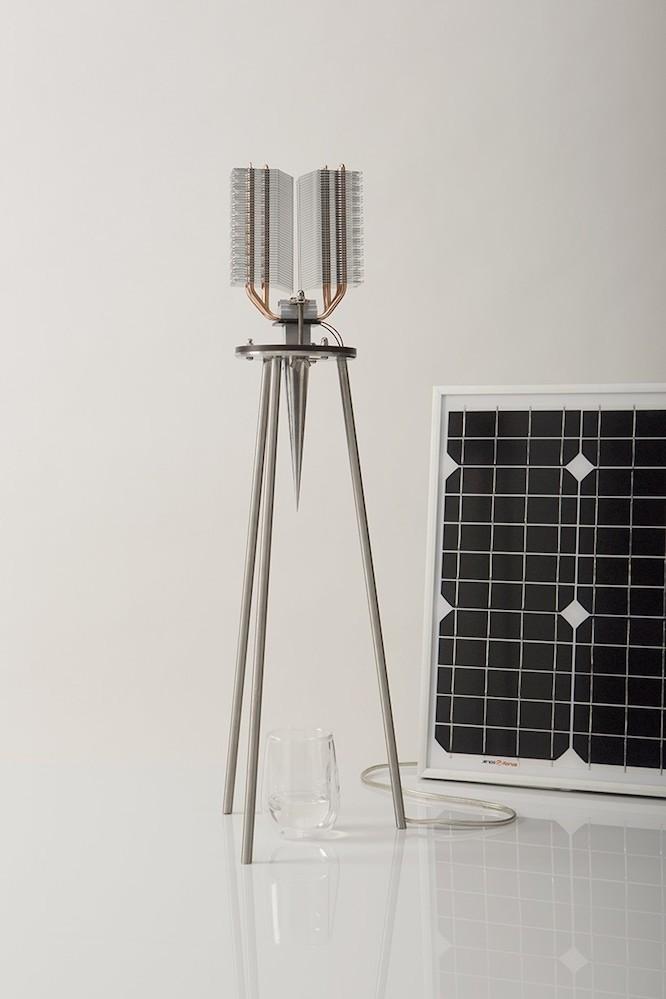画期的な装置「Sunglacier」