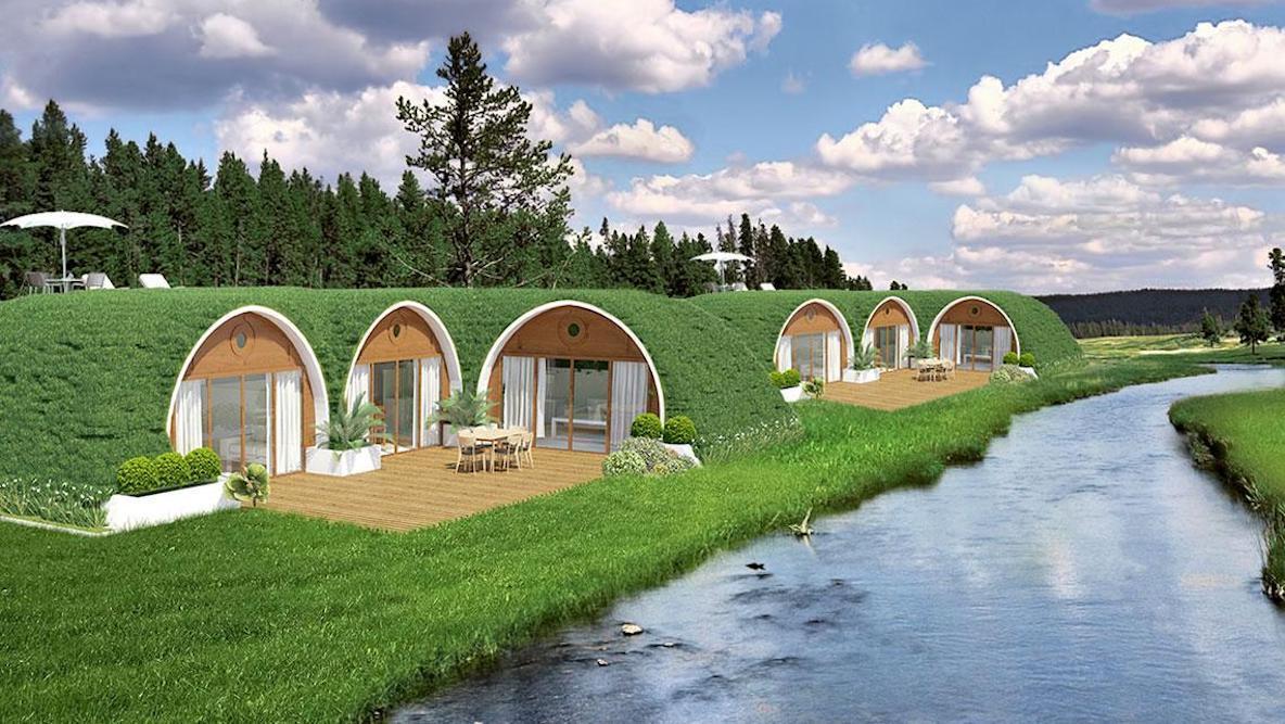 周りの環境と共生するデザイン。約110万円で建てられるプレハブハウス
