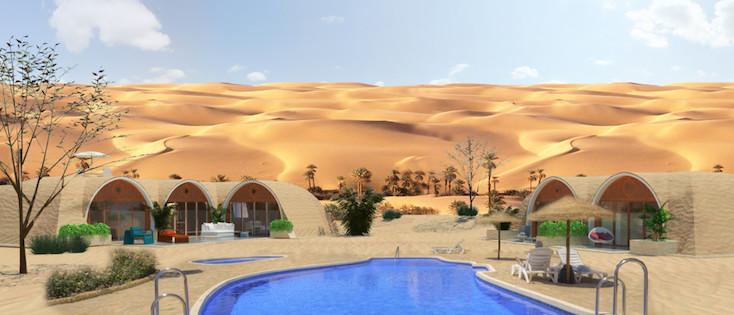砂漠にも対応できる