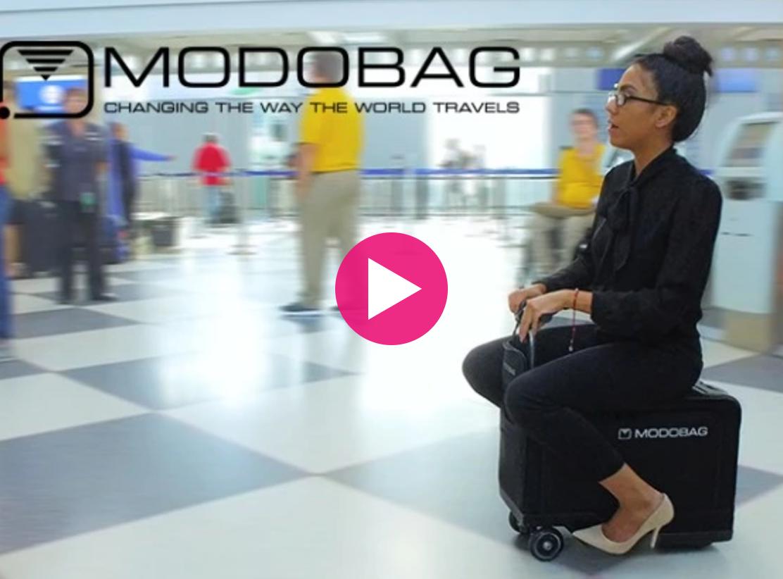 移動に便利なモータースーツケースModobag