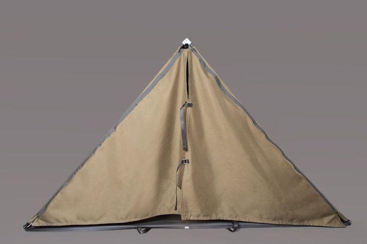 着用できるテント「Tent Jacket」の紹介