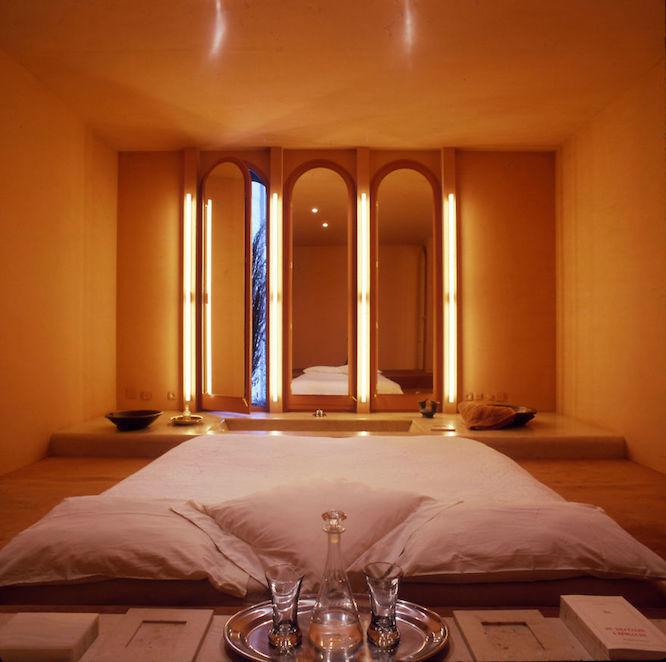 全ての部屋が目的に合わせてデザインされているので、どの部屋も洗練された空間となっている