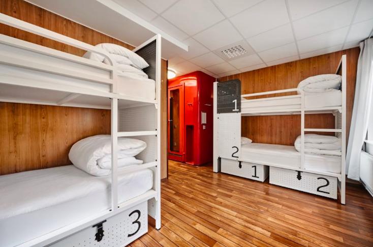 ストックホルムの快適なホステルGenerator Hotel