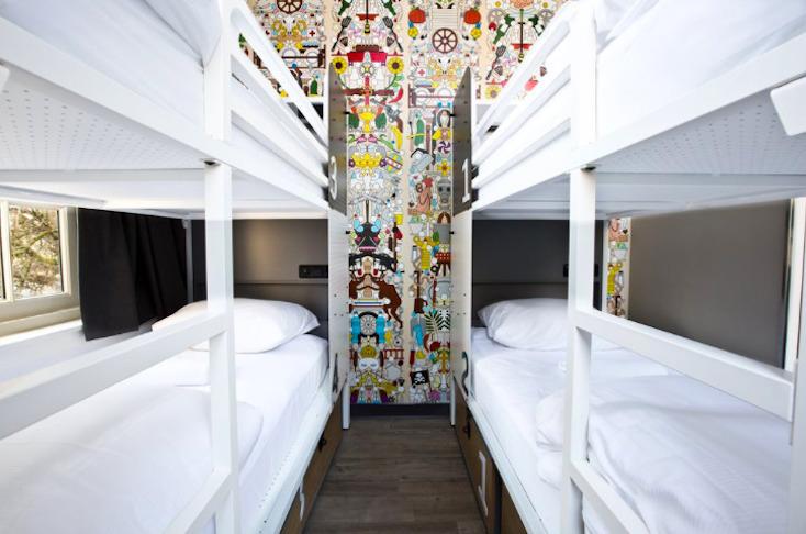 アムステルダムのリーズナブルなホステルGenerator Hotel