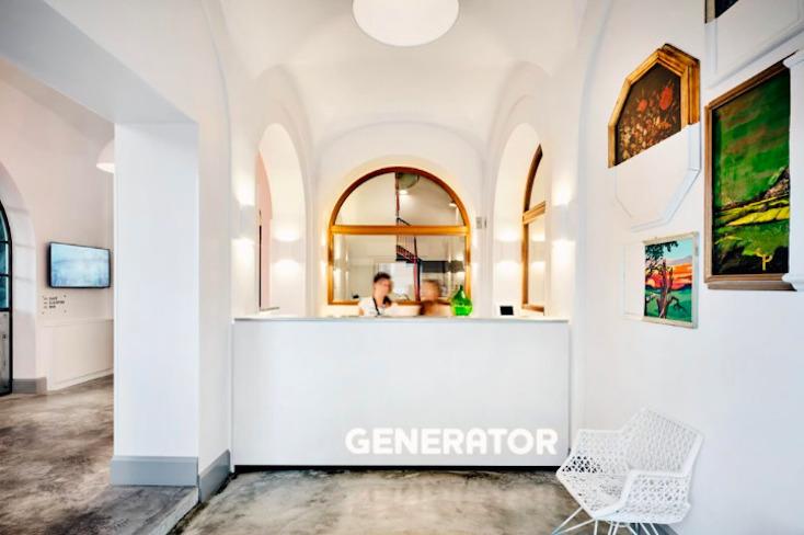 ローマのホステルGenerator Hotel