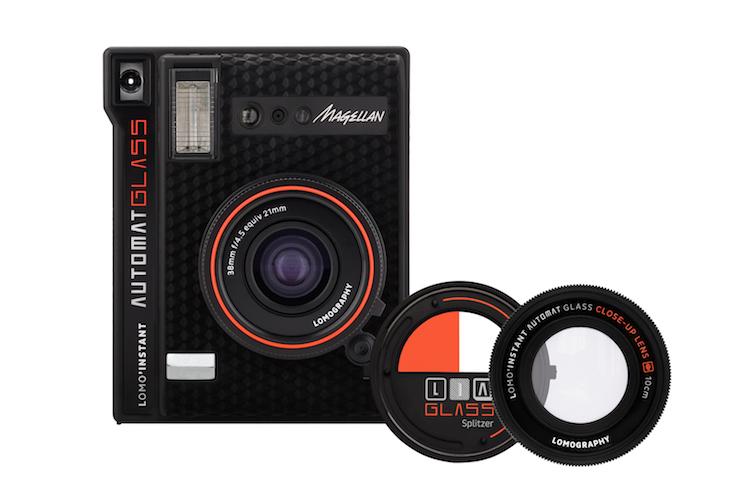 インスタントカメラLomo'Instant Automat Glassのボディ
