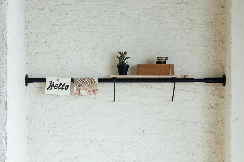 賃貸で簡単に棚を作る方法