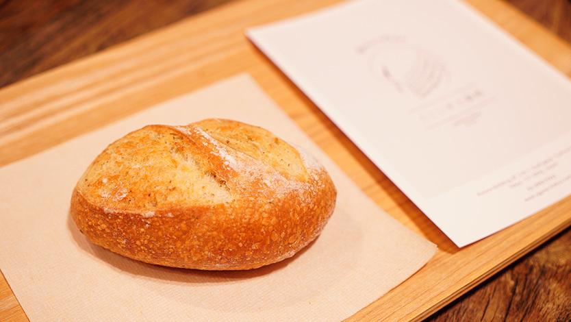 うぐいすと穀雨のパン