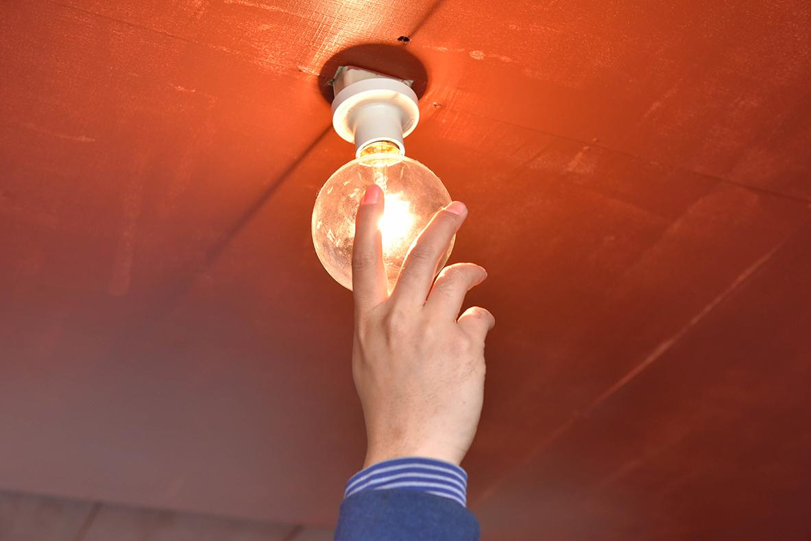 リビング照明の電球
