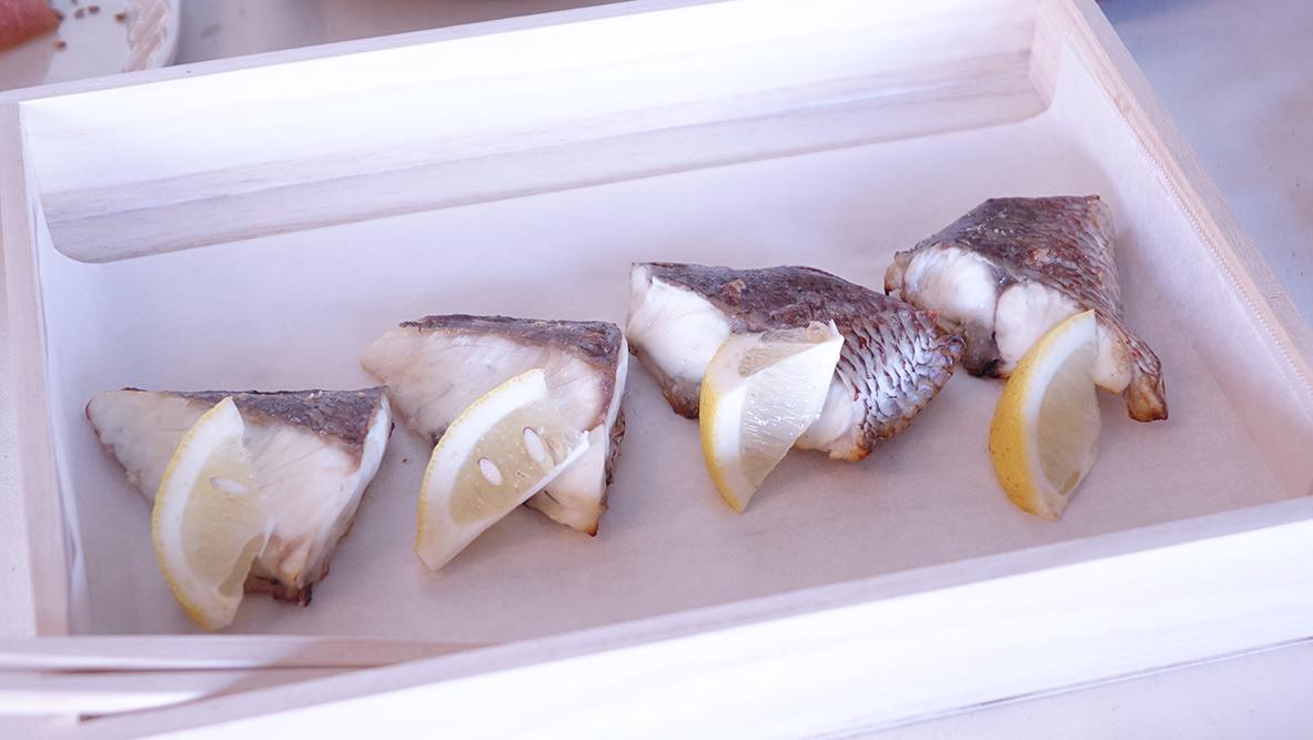 and recipeによる真鯛の塩焼き