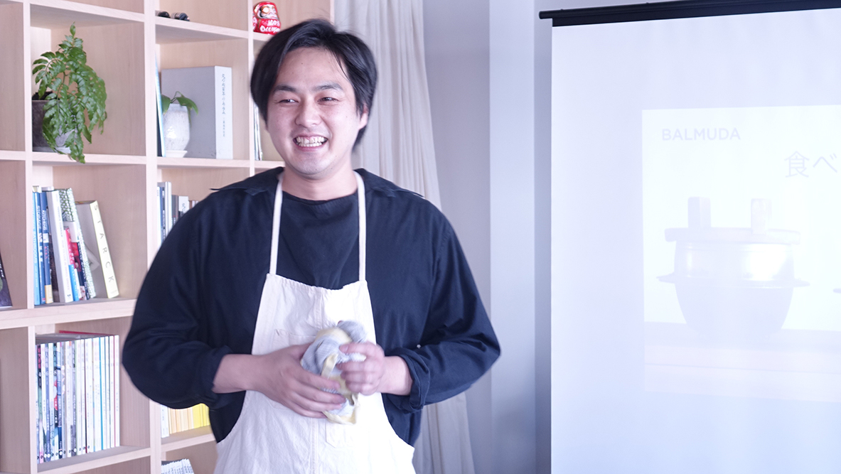 and recipeの山田英季さん