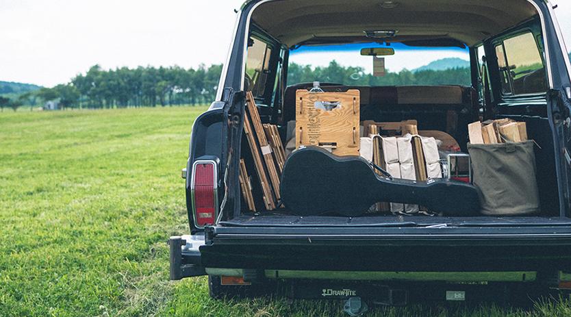 車に積み込みやすいYOKAのインテリア