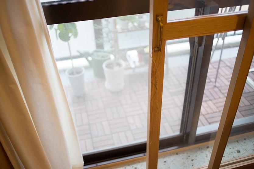 中古マンションの室内の温度を快適に保つ2重サッシ