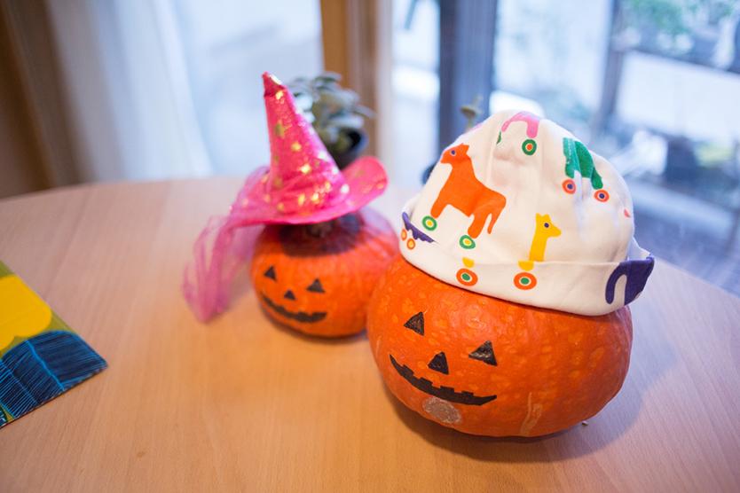 子供と一緒にハロウィンに飾りをDIYする