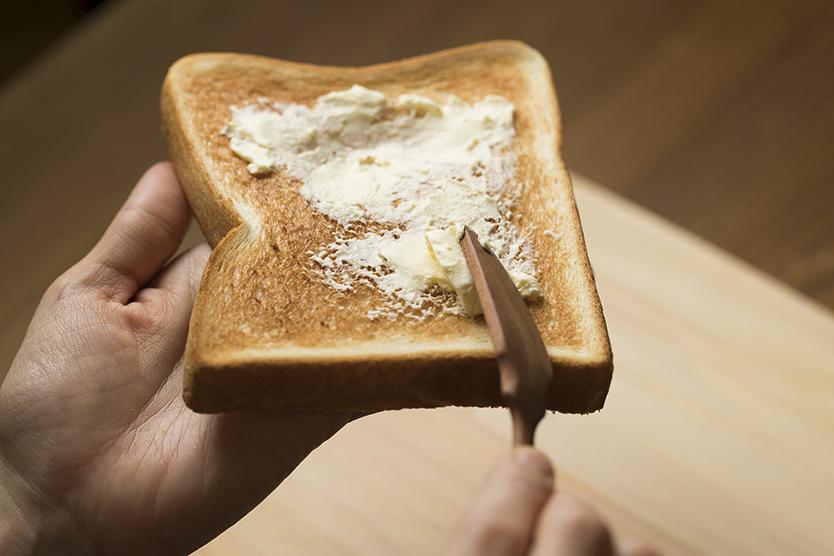 クリチおかかトーストのレシピ