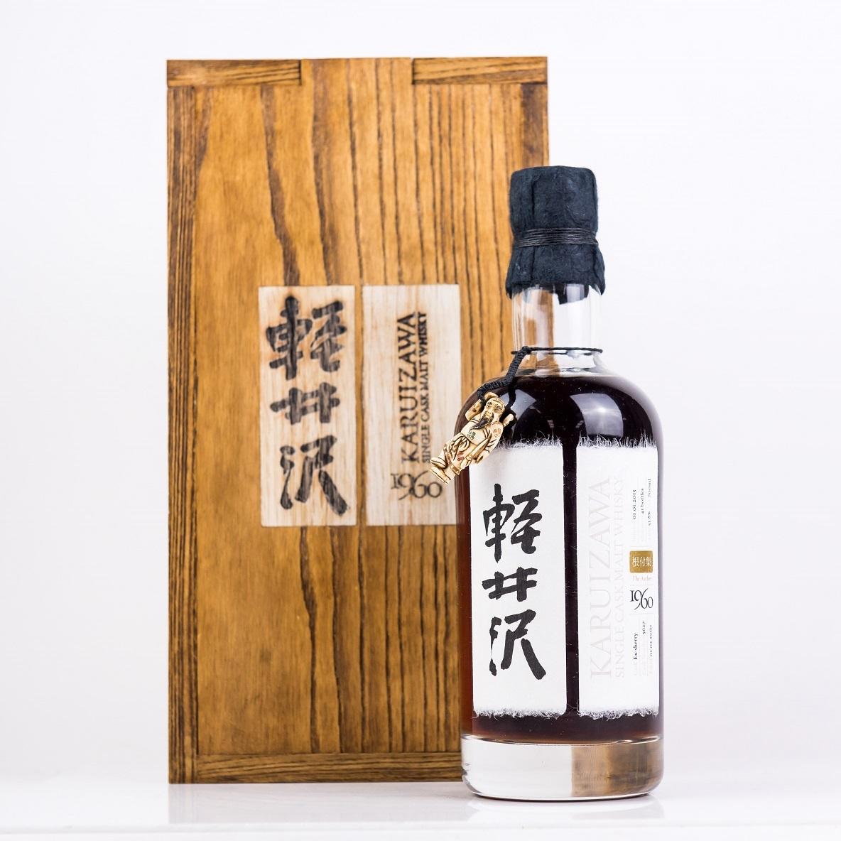 世界で最も入手困難なウイスキー「軽井沢」290本がオークションに出品