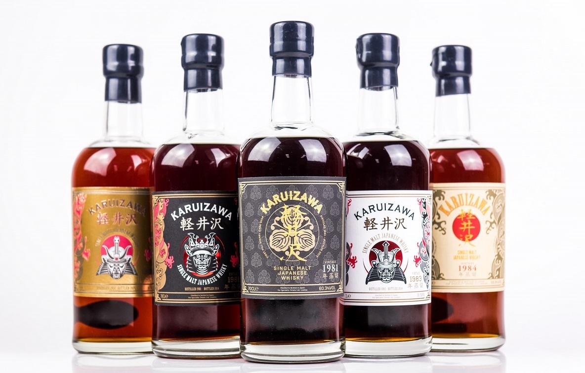 世界で最も入手困難とされるウイスキー「軽井沢」のコレクション290本が世界で初めて出品